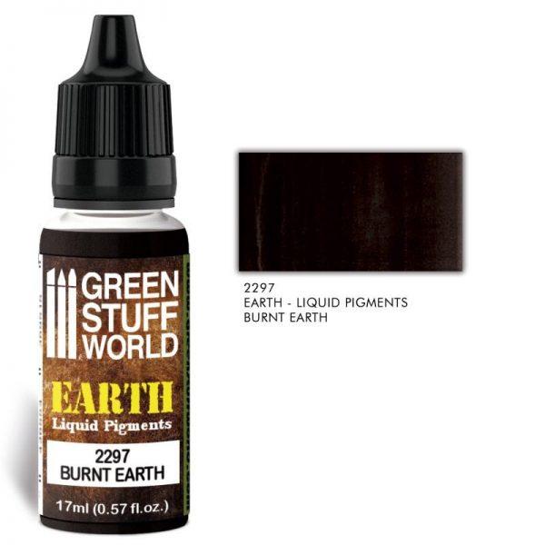 Green Stuff World   Liquid Pigments Liquid Pigments BURNT EARTH - 8436574506563ES - 8436574506563