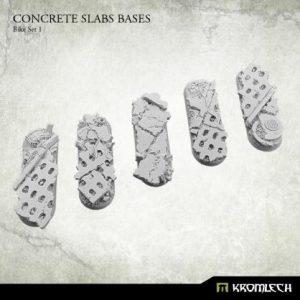 Kromlech   Concrete Slabs Bases Concrete Slabs Bike 70x25mm Set 1 (5) - KRRB018 - 5902216116214