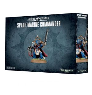 Games Workshop (Direct) Warhammer 40,000  Blood Angels Space Marine Commander - 99120101139 - 5011921066544