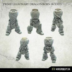 Kromlech   Legionary Conversion Parts Dragonborn Prime Bodies (5) - KRCB236 - 5902216119277