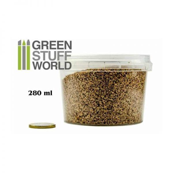 Green Stuff World   Sand & Flock Fine Basing Grit - 280 ml - XL - 8436554365784ES - 8436554365784