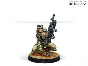 Corvus Belli Infinity  Haqqislam Hunzakuts (Rifle+Light Grenade Launcher) - 280476-0546 - 2804760005460