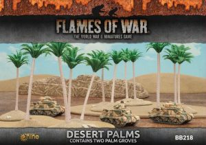 Gale Force Nine   Battlefield in a Box Flames of War: Desert Palms - BB218 - 9420020234864