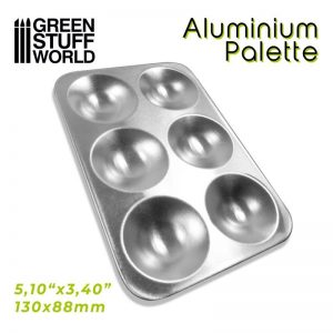 Green Stuff World   Paint Palettes Rectangular Mixing Palette - 8436574508581ES - 8436574508581