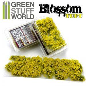 Green Stuff World   Tufts Blossom TUFTS - 6mm self-adhesive - YELLOW Flowers - 8436554367818ES - 8436554367818