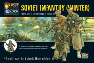Warlord Games Bolt Action  Soviet Union (BA) Soviet Winter Infantry (plastic) - WGB-RI-04 - 5060200848951
