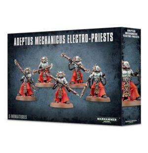 Games Workshop Warhammer 40,000  Adeptus Mechanicus Fulgurite / Corpuscarii Electro-Priests - 99120116031 - 5011921155903