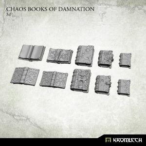 Kromlech   Misc / Weapons Conversion Parts Chaos Books of Damnation (10) - KRCB188 - 5902216115590
