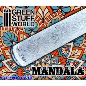 Green Stuff World   Rolling Pins Rolling Pin MANDALA - 8436574503586ES - 8436574503586