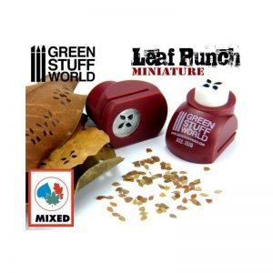 Green Stuff World   Stamps & Punches Miniature Leaf Punch RED - 8436554363100ES - 8436554363100