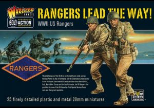 Warlord Games Bolt Action  United States of America (BA) US Rangers: Rangers Lead the Way! - WGB-AI-02 - 5060200843567