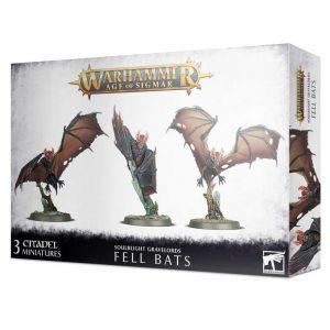 Games Workshop Age of Sigmar  Soulblight Gravelords Soulblight Gravelords Fell Bats - 99120207094 - 5011921139071