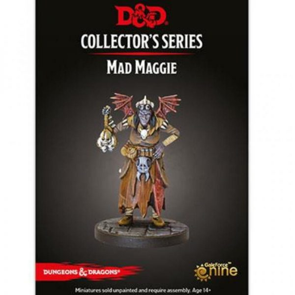 Gale Force Nine Dungeons & Dragons  D&D Miniatures D&D: Mad Maggie - GFN71090 - 9420020248076