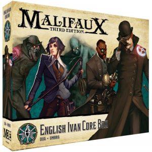 Wyrd Malifaux  The Explorer's Society Explorer's Society Ivan Core Box - WYR23806 - 812152032996