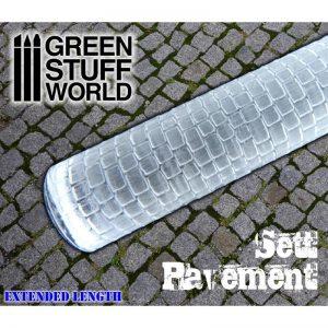 Green Stuff World   Rolling Pins Rolling Pin SETT PAVEMENT - 8436574503531ES - duplicate8436574503531ES