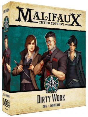 Wyrd Malifaux  The Explorer's Society Explorer's Society Dirty Work - WYR23807 - 812152033009