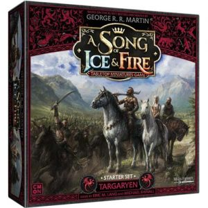 Cool Mini or Not A Song of Ice and Fire  House Targaryen A Song of Ice and Fire: Targaryen Starter Set - CMNSIF006 - 889696009524