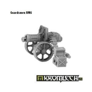 Kromlech   Imperial Guard Model Kits Guardsmen HMG - KRM039 - 5902216111622