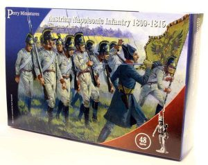 Perry Miniatures   Perry Miniatures Austrian Napoleonic Infantry 1809-1815 - AN40 - AN40