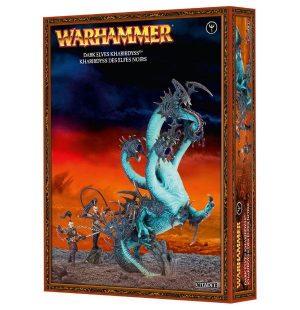 Games Workshop (Direct) Age of Sigmar  Age of Sigmar Direct Orders Dark Elf Kharibdyss / War Hydra - 99120212008 - 5011921048601