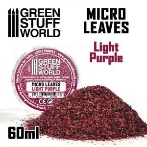 Green Stuff World   Lichen & Foliage Micro Leaves - Light Purple Mix - 8435646501086ES - 8435646501086