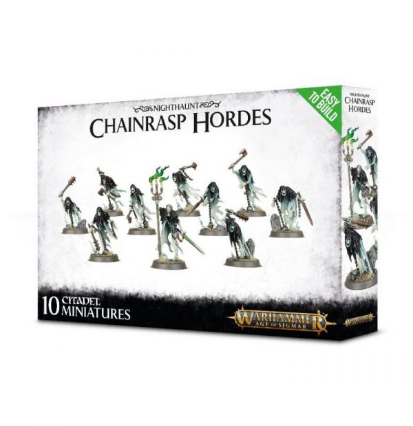 Games Workshop Age of Sigmar  Nighthaunts Easy To Build: Chainrasp Hordes - 99120207059 - 5011921100811