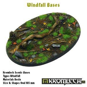 Kromlech   Windfall Bases Windfall oval 105x70mm (1) - KRRB032 -