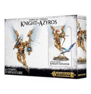 Games Workshop (Direct) Age of Sigmar  Stormcast Eternals Stormcast Eternals Knight-Azyros - 99120218003 - 5011921061150