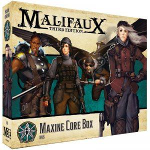 Wyrd Malifaux  The Explorer's Society Explorer's Society Maxine Core Box - WYR23822 - 812152033177