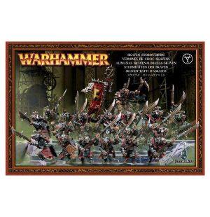 Games Workshop (Direct) Age of Sigmar  Skaven Pestilens Skaven Stormvermin - 99120206008 - 5011921016839