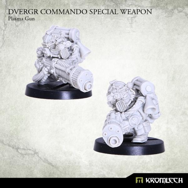 Kromlech   Dvergr Model Kits Dvergr Commando Special Weapon: Plasma Gun (1) - KRM122 - 5902216114838