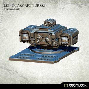Kromlech   Legionary Conversion Parts Legionary APC turret: Twin Searchlight (1) - KRVB030 - 5902216114784