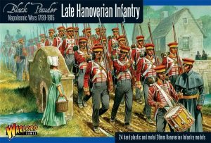 Warlord Games Black Powder  Kingdom of Hanover Hanoverian Infantry (24) - WGN-BR-13 - 5060393702153