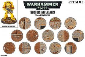 Games Workshop   Games Workshop Bases Sector Imperialis Base Pack (32mm) - 99120199039 - 5011921073153