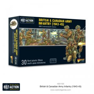 Warlord Games Bolt Action  Great Britain (BA) British & Canadian Army infantry (1943-45) - 402011020 - 5060572507166