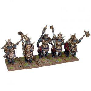 Mantic Kings of War  Abyssal Dwarves Halfbreed Cavalry Regiment - MGKWK21-1 - 5060208863925