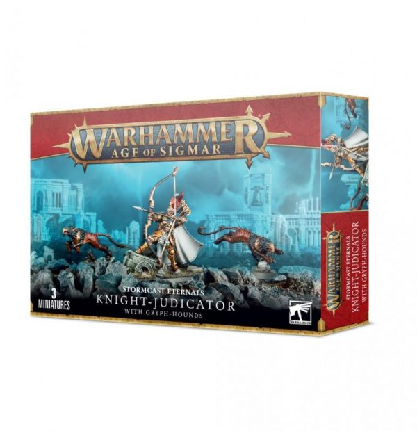 Games Workshop Age of Sigmar  Stormcast Eternals Knight-Judicator with Gryph-hounds - 99120218050 - 5011921154265