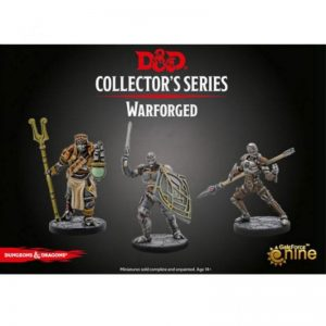 Gale Force Nine Dungeons & Dragons  D&D Miniatures D&D: Warforged Monk, Wizard & Fighter - GFN71101 - 9420020248793