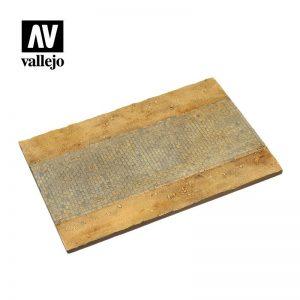 Vallejo   Vallejo Scenics Vallejo Scenics - Scenery: Cobblestone Road - VALSC105 - 8429551984645