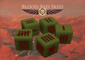Warlord Games (Direct) Blood Red Skies  Blood Red Skies Soviet Blood Red Skies Dice - 773414001 - 5060393707158