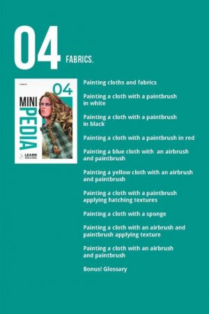 Scale75   Painting Guides Minipedia 04 - Fabric - MiniPed04 -