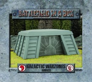 Gale Force Nine   Battlefield in a Box Galactic Warzones: Bunker - BB585 - 9420020241411