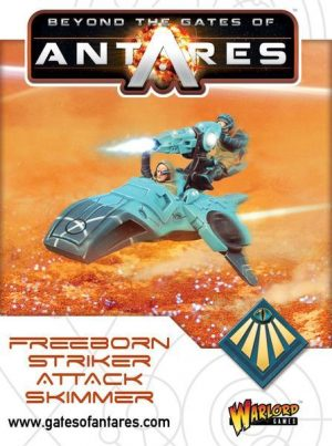 Warlord Games Beyond the Gates of Antares  SALE! Freeborn Striker Attack Skimmer - WGA-FRB-09 - 5060393703907