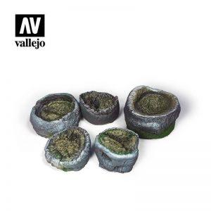 Vallejo   Vallejo Scenics Vallejo Scenics - Scenery: Palm Stumps - VALSC302 - 8429551987127