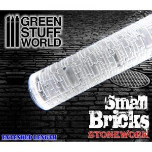 Green Stuff World   Rolling Pins Rolling Pin SMALL BRICKS - 8436554363766ES - 8436554363766
