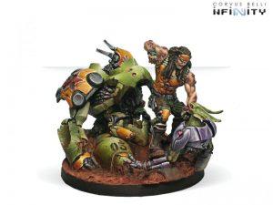 Corvus Belli Infinity  Non-Aligned Armies - NA2 Joe Scarface Turner - 280712-0430 - 2807120004301