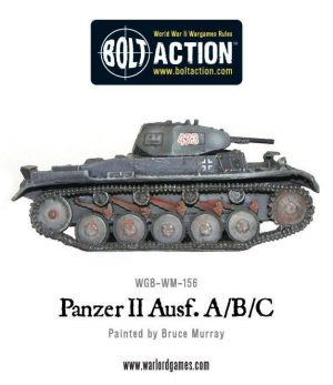 Warlord Games Bolt Action  Germany (BA) German Panzer II Ausf. A/B/C - 402412005 - 5060572500655