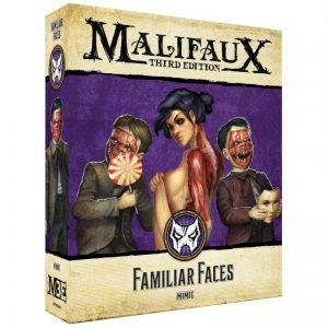 Wyrd Malifaux  Neverborn Familiar Faces - WYR23430 - 812152031623