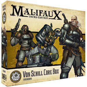 Wyrd Malifaux  Outcasts Von Schill Core Box - WYR23504 - 812152032545