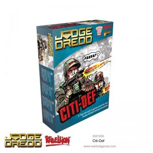 Warlord Games Judge Dredd  Judge Dredd Judge Dredd: Citi-Def - 652210204 - 5060572503540